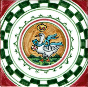 Oca - Palio di Siena Ceramic Tile