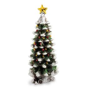 Silver Italian Christmas Tree with Star