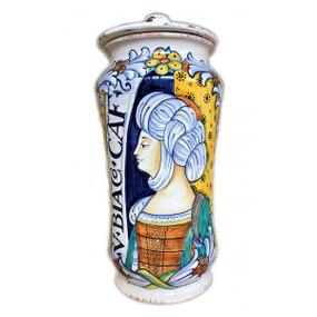 Donna - Apothecary Jar - Sberna - Italian Ceramics