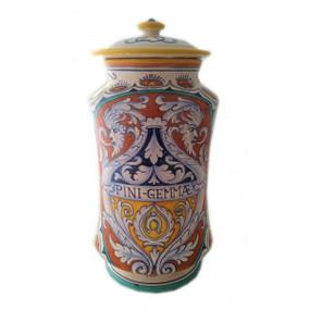 Pini Gemmae (Pine Buds) - Apothecary Jar - Sberna - Italian Ceramics