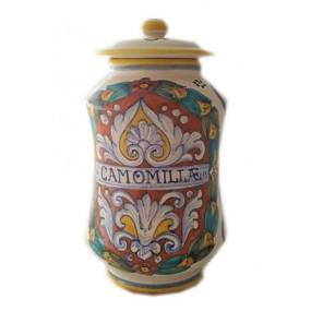 Camomile - Apothecary Jar - Sberna - Italian Ceramics
