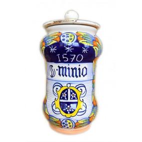 Minio - Apothecary Jar - Sberna - Italian Ceramics