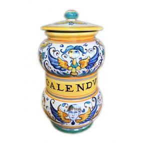 Calendum - Apothecary Jar - Sberna - Italian Ceramics