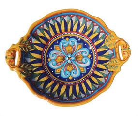 Geometrico Baroque Two Handle Bowl