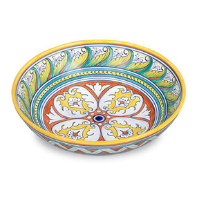 Geometrico Medium Bowl - Italian Ceramics