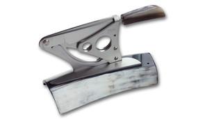 Coltellinai Saladini Knives Scarperia Table Cigar Cutter - Ox Horn