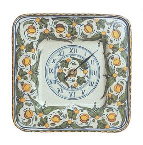 Wall Clock - Lemons - Italian Ceramics