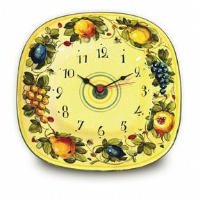 Italian Ceramics wall Clock - Toscana Bees