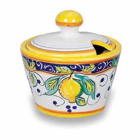 Sugar Bowl - Alcantara - Italian Ceramics