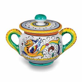 Sugar Bowl - Raffaellesco - Italian Ceramics