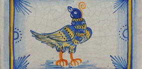 Bird - Rectangle - San Donato Tile