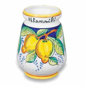 Utensil Holder - Frutta Italian Ceramics