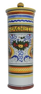 Spaghetti Canister - Raffaellesco - Fratelli Mari - Italian Ceramics