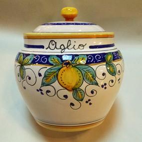 Garlic Keeper - Italian Ceramics