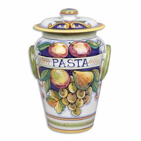 Pasta Canister - Bianco Fresco - Italian Ceramics