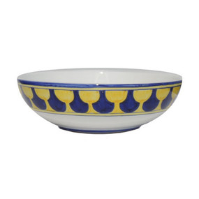 "Serving Bowl 12"" - Palio di Siena - Italian Ceramics - Fratelli Mari"