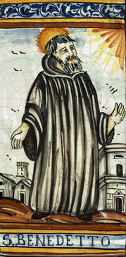 St. Benedict Tile - S. BENEDETTO