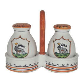 Salt & Pepper Set - Palio di Siena - (IN STOCK ITEMS)