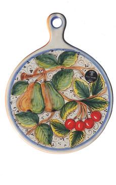 Cheese Plate - Miele - Fratelli Mari - Italian Ceramics