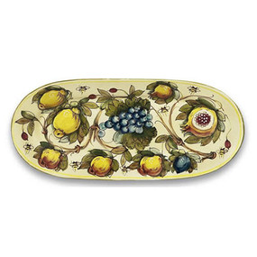 Toscana Bees Long Oval Platter