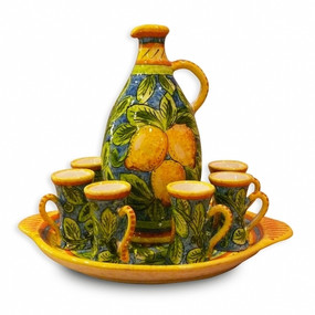 Limone 8 piece Limoncello Set