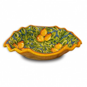 Limone Clam Bowl - Italian Ceramics