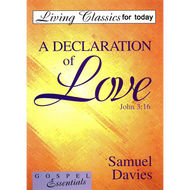 A Declaration of Love by Samuel Davies (Booklet)