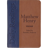 Matthew Henry Daily Readings by Matthew Henry (Leather-Bound)