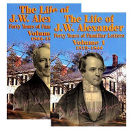 The Life of J.W. Alexander, 2 Vol. Set by John Hall (Paperback)