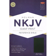 Bible NKJV Giant Print Reference (Indexed)