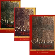 Majesty in Misery 3 Volume Set by C.H. Spurgeon (Hardcover)