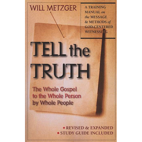 tell the truth by will metzger essay Featured tell the truth by will metzger calvinist evangelism discussion in ' baptist theology & bible study ' started by evangelist6589 , aug 15, 2014  top posters.