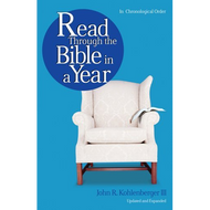 Read Through the Bible in a Year by John R. Kohlenberger III (Paperback)