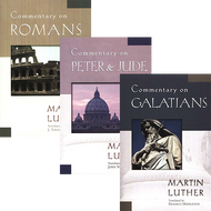 The Essential Martin Luther Commentary Set: Romans, Peter & Jude, and Galatians by Martin Luther (Paperback)