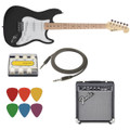 Electric Guitar Starter Pack 1 ( Black )