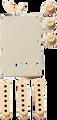 Fender stratocaster accesory kit Aged white