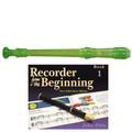 Yamaha  YRS20BG Descant School Recorder Translucent Green With Book 1