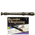Yamaha  YRS24B Descant School Recorder Brown With Book 1