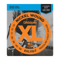 D'Addario EXL110-7 Nickel Wound, 7-String Electric Guitar Set, Regular Light 10-59
