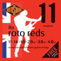 Rotosound R11 Roto Red Medium Electric Guitar Strings ( 11-48 )
