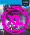 D'Addario XL EXL120BT Electric Guitar Strings 9-40