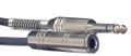 Stereo 6.3mm Jack Plug To Female Barrel Stereo 6.3mm 3 Metre