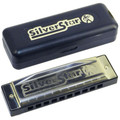 Hohner Silver star 10 hole diatonic harmonica Key Bb