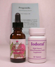 Progestelle and Iodoral