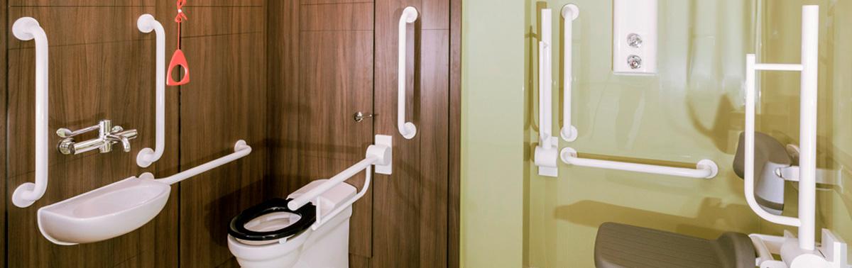 hospital bathroom gallery