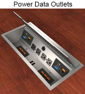 Desktop Power Data Boxes Table Legs And Bases Closet