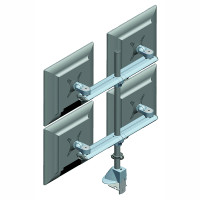 Four Screen Beam Mount Monitor Arm