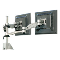 Dual Screen Height Adjustable Monitor Arm