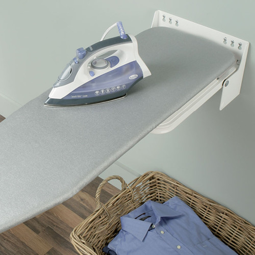 Hafele-Ironfix-Wall-mounted-Ironing-Board-568.66.700- - Hafele Ironfix Wall-mounted Ironing Board 568.66.700 - Closet-Masters