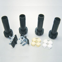 Camar Plastic Levelers with Groove Mount Clips
